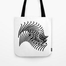 Zebra Sonnet Tote Bag