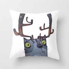 What?! Throw Pillow