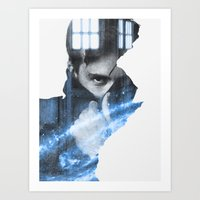david tennant Art Prints featuring Tennant by Envide