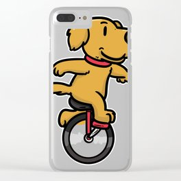 Unicycle Pedal Vehicle Sport Gift High Bike Clear iPhone Case