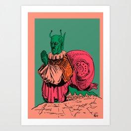 i need to believe Art Print