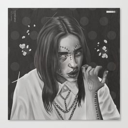 Billie Canvas Print