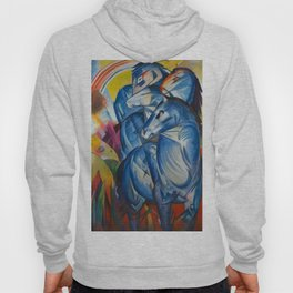 """Franz Marc """"The Tower of Blue Horses"""" Hoody"""