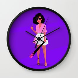 fight me Wall Clock