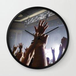 Crowd Wall Clock