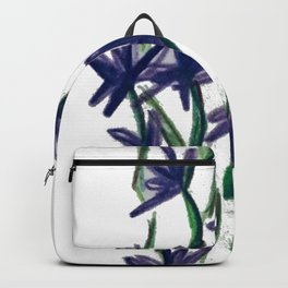 PurpleFlowers Backpack
