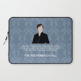 The Reichenbach Fall - Sherlock Holmes Laptop Sleeve