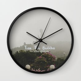 Hong Kong Tian Tan Buddha Wall Clock