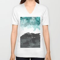 storm V-neck T-shirts featuring storm by Golden Boy