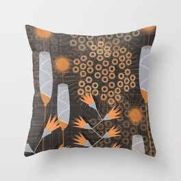 flower pattern2 Throw Pillow
