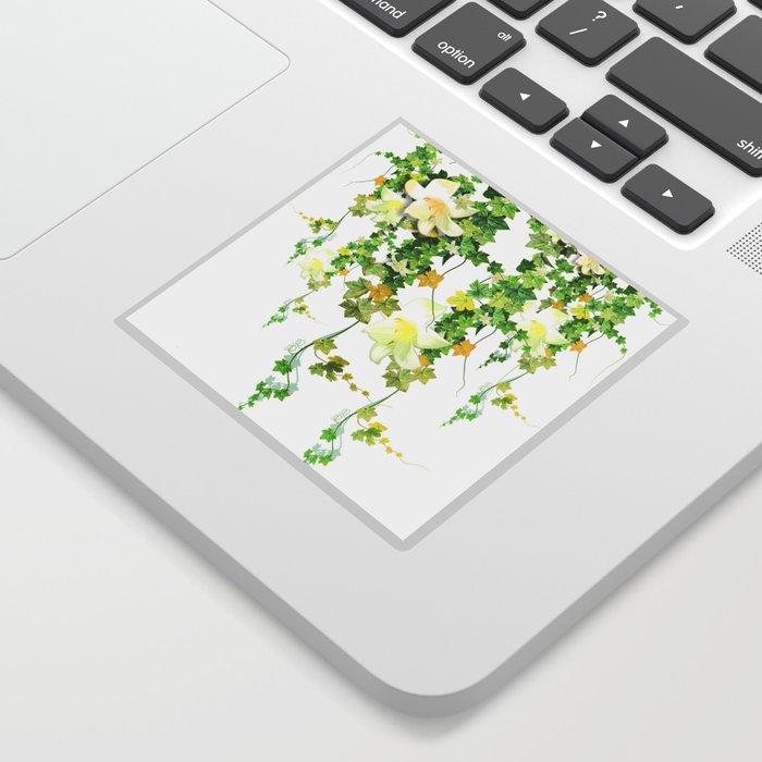 Watercolor Ivy Sticker