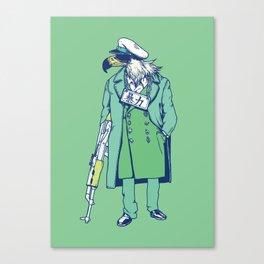 Game fowl Canvas Print