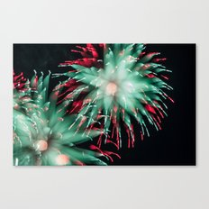 Fireworks - Philippines 15 Canvas Print