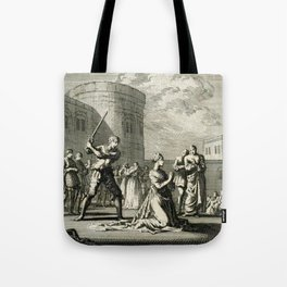The Execution of Queen Anne Boleyn  Tote Bag