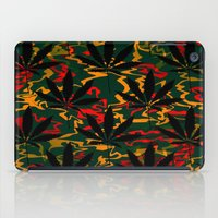 rasta iPad Cases featuring Rasta Leaves... by Cherie DeBevoise