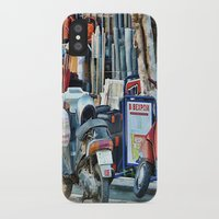 greek iPhone & iPod Cases featuring Greek Street by Teresa Pople