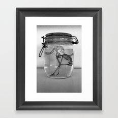 Human Speciman Framed Art Print