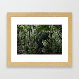 A precious gift redux. Framed Art Print