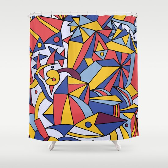 - dreamed architecture - Shower Curtain