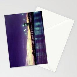 H.B. Pier Sunset 1983 Stationery Cards