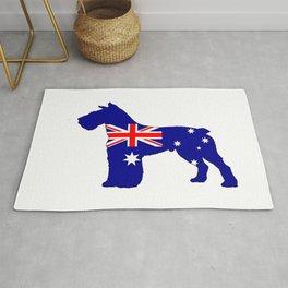 Australian Flag - Schnauzer Rug