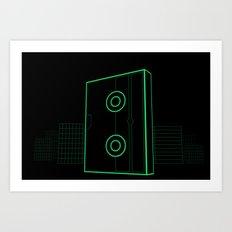 VHS NYC Art Print
