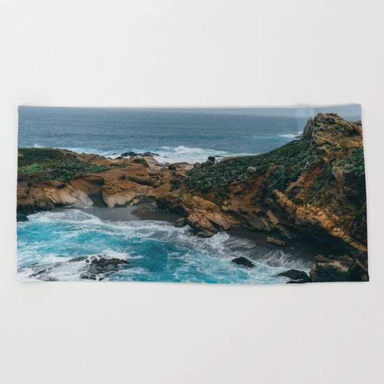 Big Sur Coast Beach Towel