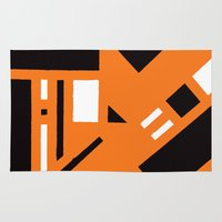 broadway Area & Throw Rugs featuring 7av. Broadway by Michal Gorelick
