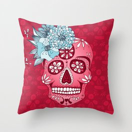 Cotton Sugar Throw Pillow