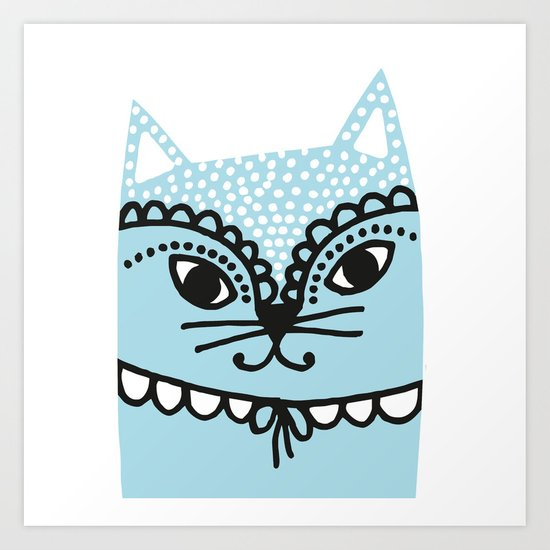 Katze #1 Art Print
