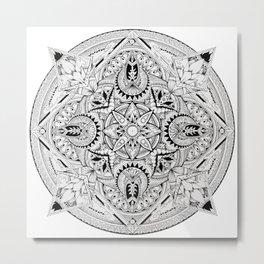 Lost Mandala  Metal Print