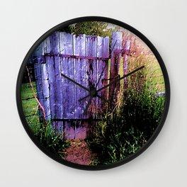 Enchanted Gateway Wall Clock