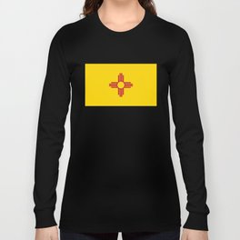 Flag of New Mexico - Authentic High Quality Image Long Sleeve T-shirt