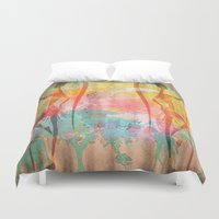 african Duvet Covers featuring African Beauties by Robin Curtiss