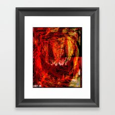 Rabid Halloween Framed Art Print