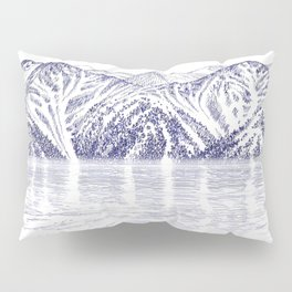 TURNAGAIN ARM AND THE CHUGACH RANGE ON THE COOK INLET ALASKA Pillow Sham