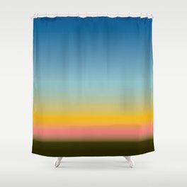 SNST—L.A. (horizontal) Shower Curtain