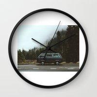 van Wall Clocks featuring Northwest Van by Kevin Russ