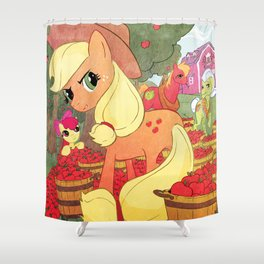 Applejack and Family Shower Curtain