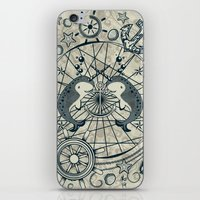 narwhal iPhone & iPod Skins featuring Narwhal by AmKiLi