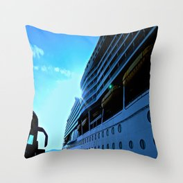 Mariner of The Seas Throw Pillow