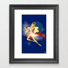She-Ra, ReVamped!  Framed Art Print