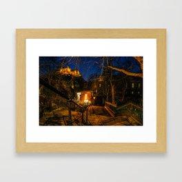 Edinburgh Castle II Framed Art Print