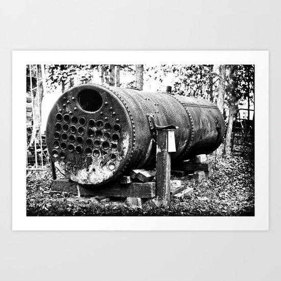 For Steam Art Print