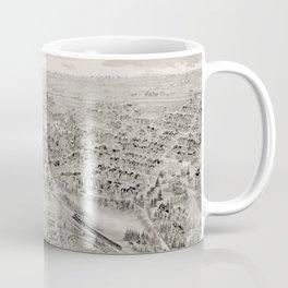 Vintage Map of West Medford MA (1897) Coffee Mug
