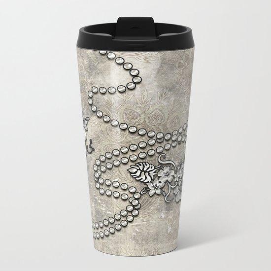 Wonderful decorative vintage design Metal Travel Mug