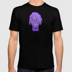 Zombie Splaugg! SMALL Black Mens Fitted Tee