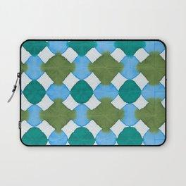 Shibori (green and blue) Laptop Sleeve