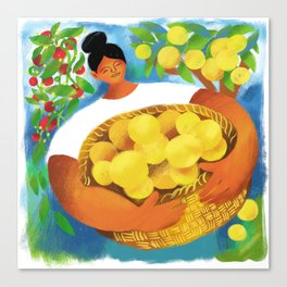 La Limonera Canvas Print