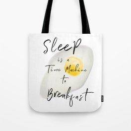 Breakfast / poster, art print, pictures, scandinavian, nursery, deco, saying, christmas, sarcasm, eg Tote Bag